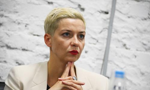 Колесникова заявила о народной революции в Белоруссии